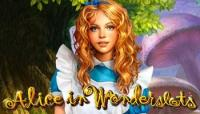 alice aux pays des merveilles jolie fille blonde slot alice in wonderslots