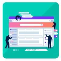Interface, site web