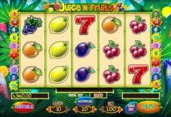 Juice'n'fruits Playson islot