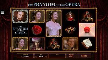 fantome de l'opera machine a sous