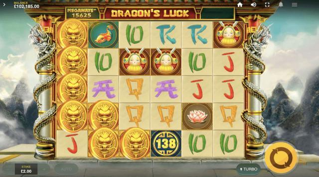 Dragon's Luck Megaways slot Red Tiger