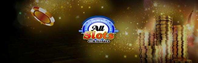 All Slots casino banner