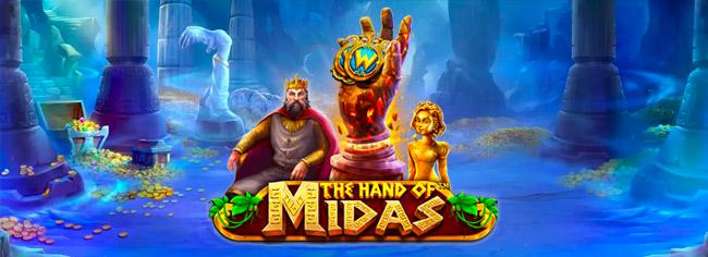 the hand of midas pragmatic play slot