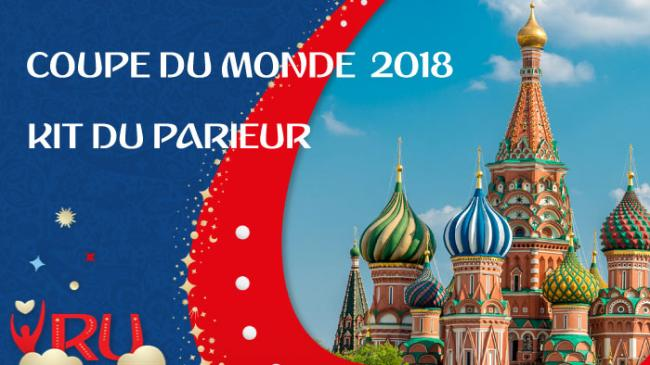 Coupe du Monde 2018 Illustration Kit du parieur